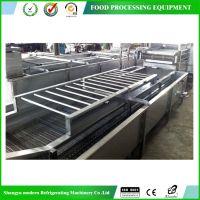 【厂家直销】 食品加工机械 蔬菜气泡清洗机 水果高压清洗机