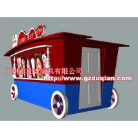 黔南商业街售卖车 黔西南公园售货亭 钦州饰品零售花车