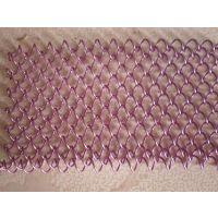 安平厂家定做金属网帘 金属装饰网 特殊编织网