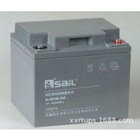 风帆6-GFM-50铅蓄免维护电池,12V50AH工业铅酸免维护电池