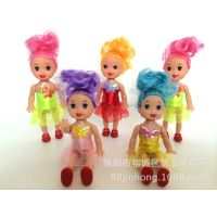 芭比娃娃 迷糊娃娃 10厘米娃娃 3寸小凯莉 裸娃素体厂家批发