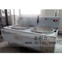 萝岗电磁双头大锅灶批发亲和力 QHL-SDC25 25KW变频电磁蒸柜更节能