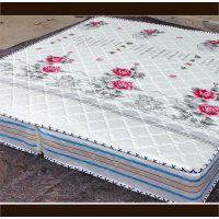 新款批发针织布精钢弹簧折叠床垫 棕垫双人人席梦思 宾馆酒店床垫
