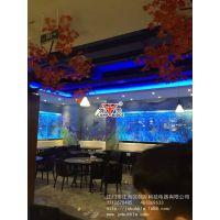 重庆客户定制餐厅气泡墙,水幕墙,水舞屏风,水舞气泡墙,隔断墙