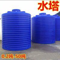 湖北5吨滚塑储罐/塑料储罐/塑料水塔厂家