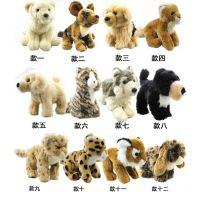 外贸原单尾货出口玩具正品毛绒新款仿真动物泰迪狗狗熊猫公仔