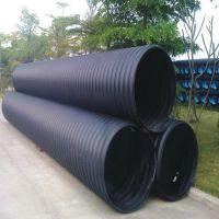 (京通品牌)厂家供应hdpe钢带增强螺旋波纹管