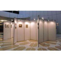 冠禾展厅画展展板 折叠书画屏风展架 展览作品临时展架 便携式展览展板