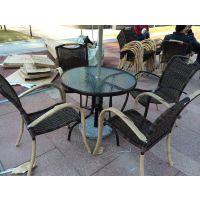 从化专业制造编藤桌椅 番禺仿藤家具厂 舒纳和休闲家具