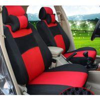 经典 红色 黑色汽车座垫 四季新款汽车座垫 冬天坐垫 汽车用品