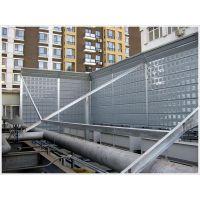 杭州工厂冷却塔声屏障价格*杭州中央空调组声屏障生产工厂*顶部弧型声屏障的作用