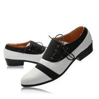 2015新款男韩版时尚休闲皮鞋真皮头层皮英伦正品白色男鞋婚鞋子