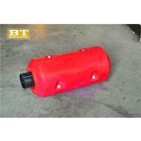 苏州塑料浮体厂家,直径300600抽砂管浮筒,优质管道浮体价格