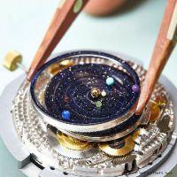 稳达时钟表 专业手表代工厂家 生产超酷炫行星机械表 奢侈礼品手表