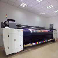 5米宽幅 双喷布双面喷绘 UV卷材固化墨水高精度 环保无害 UV喷绘机