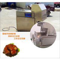 2000型食品冻肉切块机 不锈钢切块机 河南民生食品机械厂
