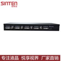 信特安4路VGA DVI HDMI 分割器四画面分割处理器高清4进1出 融合器