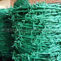 新疆厂家供应PVC包塑双捻刺绳、可定制