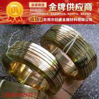 东莞巨盛厂家直销黄铜插头扁线、拉链扁线、黄铜方线,铜线厂家