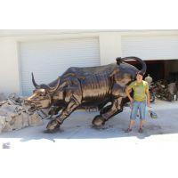 加工定制玻璃钢彩绘动物人物雕塑 华盛顿牛 鹿