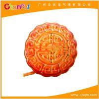 厂家促销中秋节充气月饼模型 广告月饼宣传模型定做 仿真模型气模