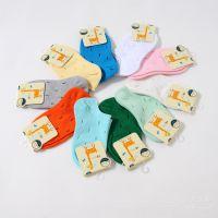 15春夏儿童袜子 男女童宝宝糖果色洞洞船袜 纯棉弹力浅口防滑袜子