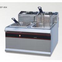 新粤海EF-904 商用双缸双筛加厚电炸锅油炸机 炸薯条机特价