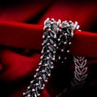 罗马锆石水晶手链 七夕情人节礼物