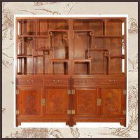 北京厂家订做榆木博古架 多宝格 古典家具