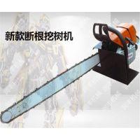 移栽挖树机型号 链条超级耐用的移栽挖树机 润丰导板不会断