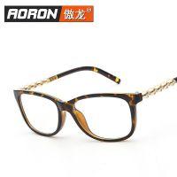 工厂直销新款男女式电脑眼镜框舒适配镜复古眼镜架7240K