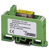 2967015 菲尼克斯PLC底座端子 PLC-BSC- 24DC/21-21