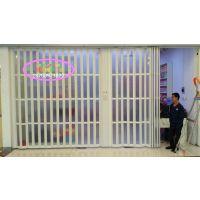 供应优质PVC折叠门厨卫隔断门商铺推拉门玻璃折叠门18700973822