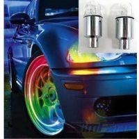 汽车摩托车气门嘴灯 风火轮灯 爆闪灯 LED轮胎装饰灯 改装轮毂灯
