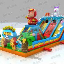 小孩玩的充气城堡蹦蹦床投资与收益分析