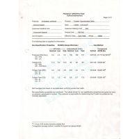 特卫强纸Tyvek杜邦无纺布1443R材质参数检测报告,软质克重厚度