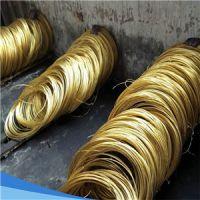 生产加工镀镍黄铜线1.0mm/上海国标H65镀锡黄铜线加工