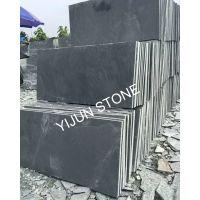 依君石材天然黑色规格板 室内外地面庭院装修铺地石砖