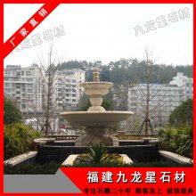广场石雕喷泉 石雕人物喷泉 石材水钵多少钱