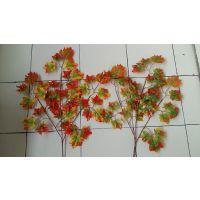 仿真红枫叶 红枫叶 黄金枫叶 仿真树叶