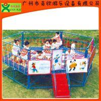 厂家直销广州奇欣儿童蹦床,儿童跳跳床,六角蹦蹦床,物美价廉(QX-118B)