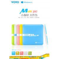 VOYO 厂家首款MINI PC 2 64迷你主机台式电脑平板电脑微型办公voyo机顶盒