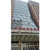 郑州玻璃幕墙清洗、蜘蛛人清洗、石材清洗、高空工程,特沃斯清洁为您服务