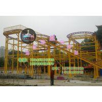 公园游乐设备儿童游艺设施自旋滑车