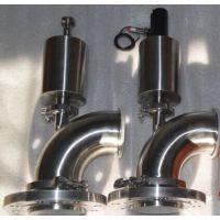 米睿厂家在温州生产型号FL81食品级放料阀FL卫生级放料阀常压常温产品