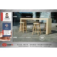 华为专卖店3.0版洽谈桌椅制作厂家直销