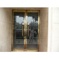 供应天津津南区安装玻璃门 津南区玻璃门安装美观时尚