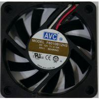正品 AVC F6010B12HS 6010 6CM 12V 0.19A 3线 散热 CPU 风扇现