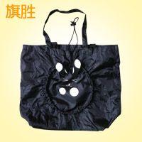 其他袋卡通公仔购物袋 折叠旅行动功能购物袋旅行包行李袋手袋