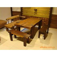 可来图来样加工实木家具/原生态家具/餐厅家具/餐桌